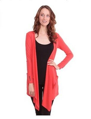 Texere women's Long Sleeve Draped Cardigan (Diana), EcoFriendly