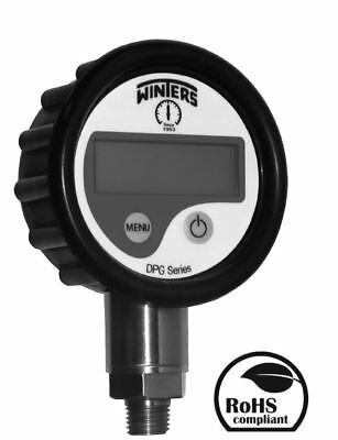 Digital High Pressure Gauge 400 Bar 5800 Psi Winters