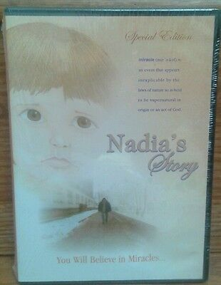 Nadia's Story DVD Silanskas Miracle Special Edition Children Family Drama NEW for sale  Orlando