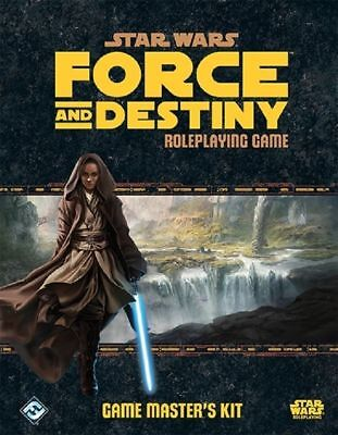 Star Wars RPG Force and Destiny - Game Master's Kit (New)
