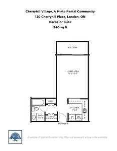 Two Bedroom Suites Cherryhill Village  for Rent - 105... London Ontario image 7