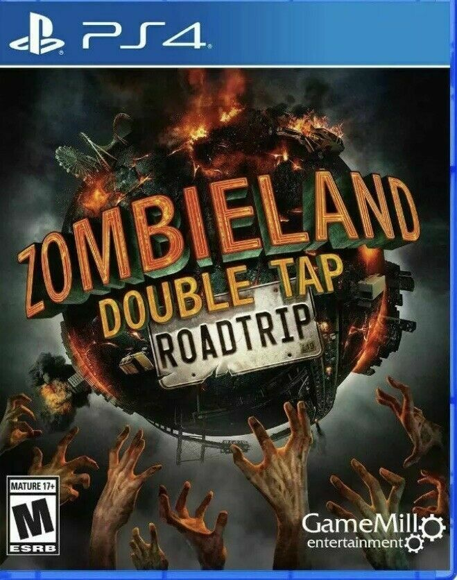 Zombieland Double Tap Roadtrip Playstation 4 PS4 Brand New Sealed