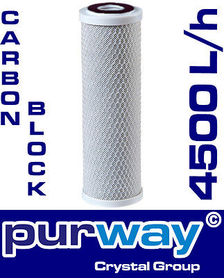PCB 10mcr Carbon Block Aktivkohleblock Aktivkohle Wasserfilter Kalk Chlor Osmose