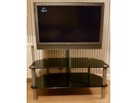 "Sony 37"" LCD TV with Freestanding Display stand"