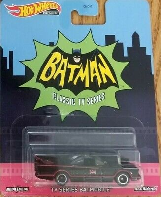 💥HOT WHEELS PREMIUM SERIES BATMAN CLASSIC TV SERIES BATMOBILE FREE SHIPPING!!💥