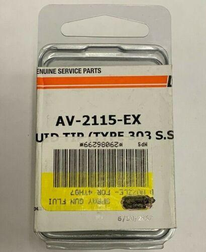 DEVILBISS - FLUID TIP (TYPE 303 S.S.) - AV-2115-EX