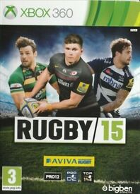 XBOX 360 - RUGBY 15