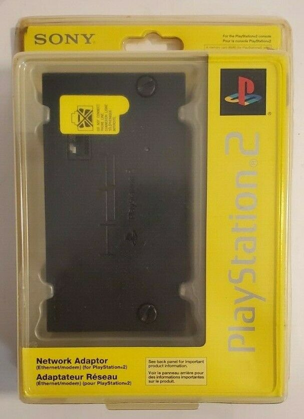 Official OEM Sony PlayStation 2 Network Adaptor SCPH-10281 Sealed Package