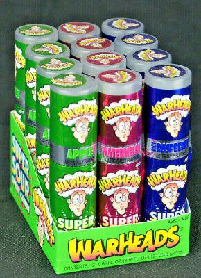 WARHEADS Super Sour Spray US Candy 20g Sprays pro 100ml 7,45€ Sprühflasche