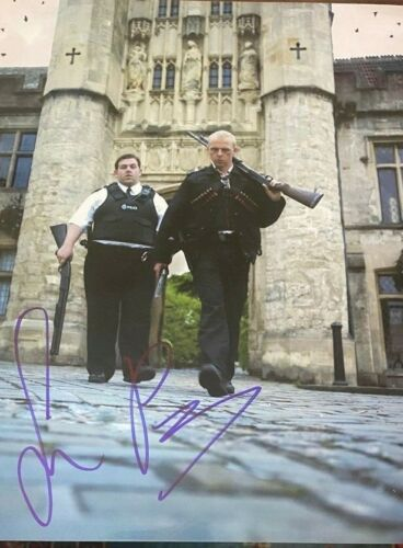 Simon Pegg signed autographed 8x10 Photo Hot Fuzz Shaun of the Dead