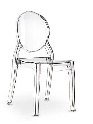 Plexiglas Acryl Ghost chair Victoria Elizabeth Stuhl Transparent. Kein China!!