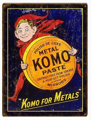 Country Komo Paste Advertisement Sign