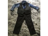 Size 2-3 years, 4 piece suit Next Signature and John Rocha