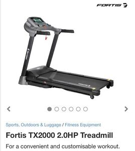 Treadmill @ super price - Fortis TX2000 2.0HP By Kogan Randwick Eastern Suburbs Preview