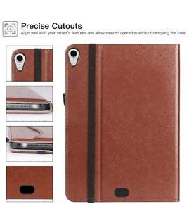iPad Pro 12.9 Case 2018, Premium Leather Slim Folio Stand Cover
