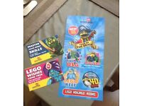 4x Legoland tickets for Thursday 19th July 19/07/18 (Weekday = EMPTY PARK)