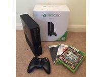 Xbox 360 4gb/go with controller and 3 games