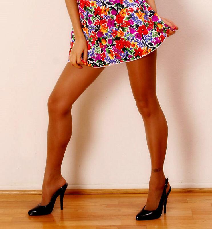 abc0aa47ee277 C Long=D Tamara Suntan Pantyhose Hooters Uniform Sexy Lingerie Tights 20  Denier