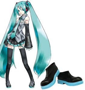 CONVENTION ANIME MIKU HATSUNE SHOES SOULIER