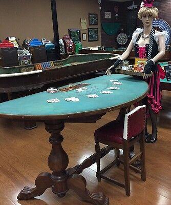 Vintage BC Wills Blackjack Table