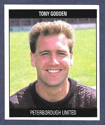 Orbis 1990 Fußball Kollektion #G17-PETERBOROUGH United-W.b.a-Tony Godden
