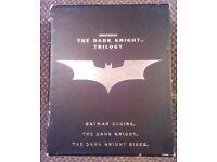 Dark Night Trilogy Blue ray