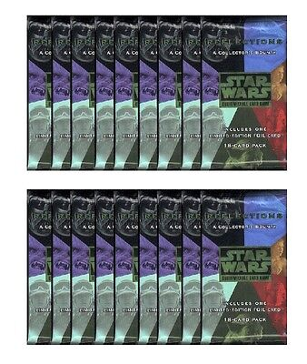 STAR WARS CCG REFLECTIONS 1 : 15X BOOSTER PACKS SEALED NEW 1/2 BOX