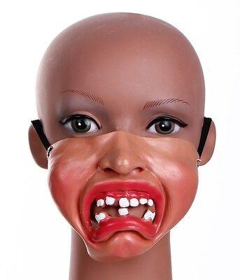 Weinendes Baby Maske Latex Halbes Gesicht Maskenkostüm Junggesellenabschied