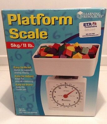 Nib Learning Resources Ler2345 Platform Scale 5Kg 11 Lb