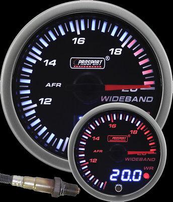 Prosport 52mm JDM Wideband Air Fuel Ratio Gauge w/ Bosch O2 sensor kit