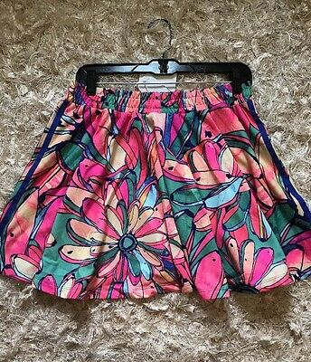 ADIDAS Women's Flared Multicolored Skirt w/ Pockets Sz Small AJ8157