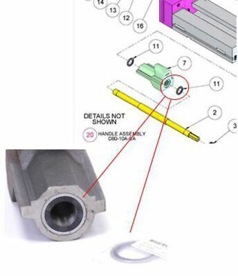 Fuller Internal Brush Seal 1-78 Od Fits Kurt Fits Cnc Machine Vise Kurt