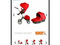 Red stokke explory buggy