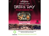 Green Day - Barclaycard British Summer Time - Saturday -- Read the ad description before replying!!