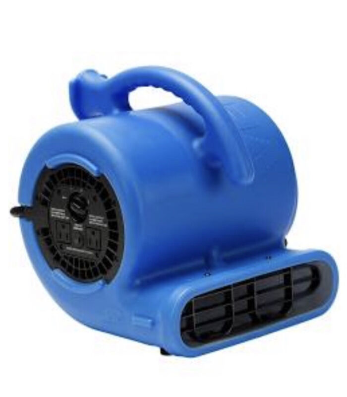 B-Air VP-20 1/5 HP Air Mover Fan Water Damage Restoration Carpet Floor Dryer