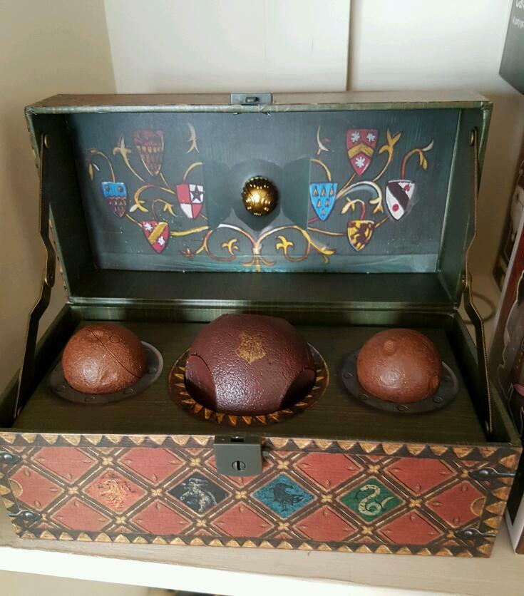 Quidditch set. Harry Potter replica : in Norwich, Norfolk : Gumtree