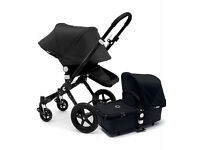 Immaculate limited edition all black bugaboo cameleon 3