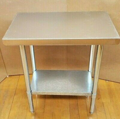 Commercial 18 X 30 Stainless Steel Kitchen Work Prep Table Nsf