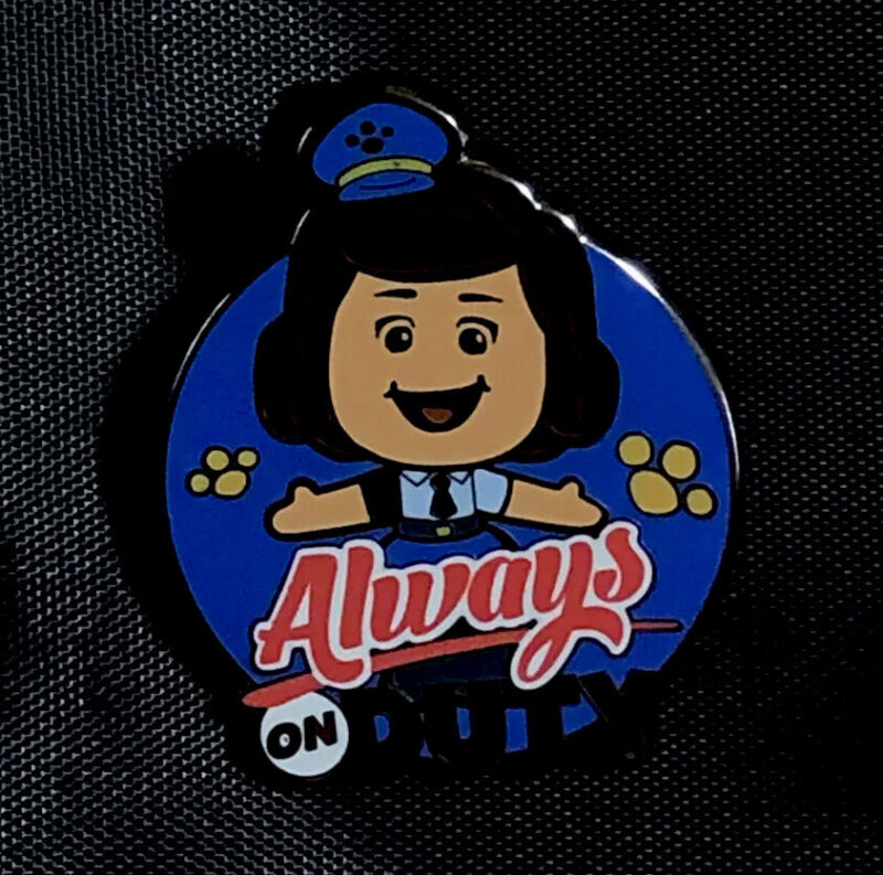 Disney Pixar Toy Story 4 Officer Giggles Mcdimples Limited Release Pin