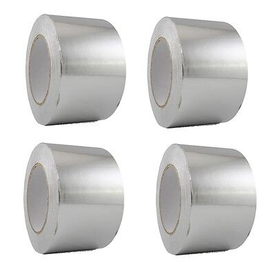 4 Rolls Aluminum Foil Tape 3 X 150 With Liner - Malleable Foil - Free Shipping