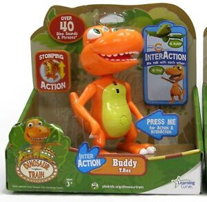Learning Curve DINOSAUR TRAIN = Interaction *BUDDY*