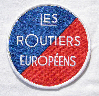Les Routiers Europeens Aufnäher Patch 10 cm NEU (A6.2)