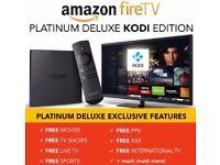 *****Amazon Fire TV with 4K Ultra HD Digital Media Streamer + Kodi 17.4*****