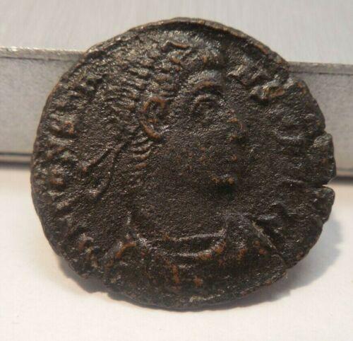 Ancient Roman - Bronze Half Centenionalis - Constans - Emperor 337 A.D-350 A.D.