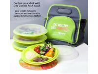 Go-Healthy Travel Combo Lunch Plates & Bag