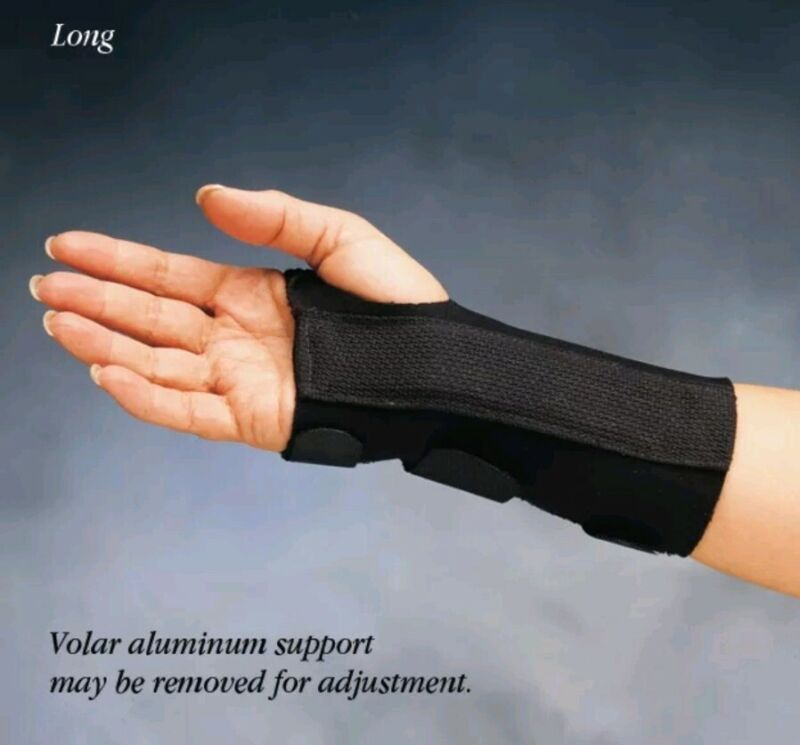 Comfort Cool D-Ring Left Wrist Splint ~ Carpal Tunnel Fracture Support~ Size XL