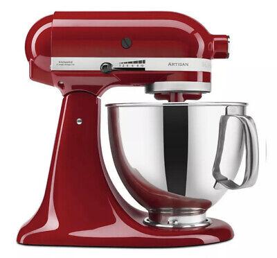 *NEW* KitchenAid Artisan 5 Qt. 10-Speed Empire Red Stand Mixer KSM150PSER