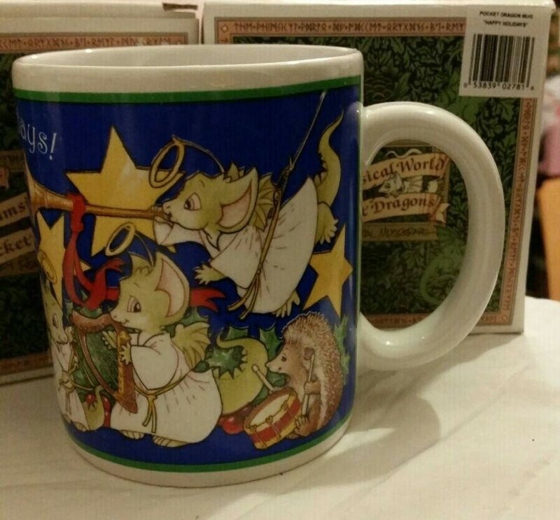 RC 💖 Pocket Dragons Dragon * New in Box * Mug * 🎄Happy Holidays!🎄 * 1997