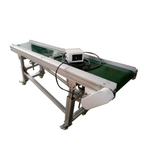 """Hot !Commercial Conveyor,110V,120W Inclined Conveyor 70.8""""(L)*11.8""""(W) US"""