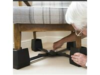 CHAIR RAISING KIT Elderly Disability Rise Height of Seats for persons with weakness